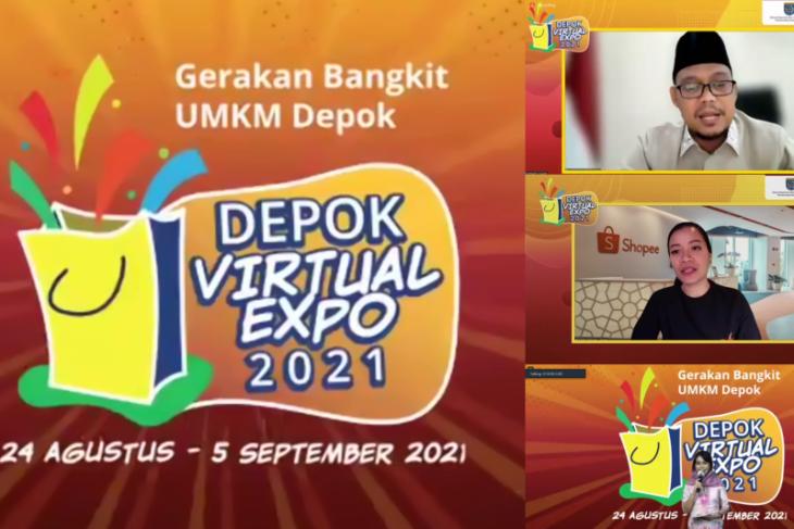 Depok Virtual Expo 2021 hadirkan ribuan UMKM lokal dengan gandeng shopee