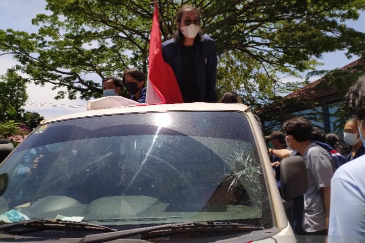 Mahasiswa dan satpam bentrok di kampus Universitas Bengkulu