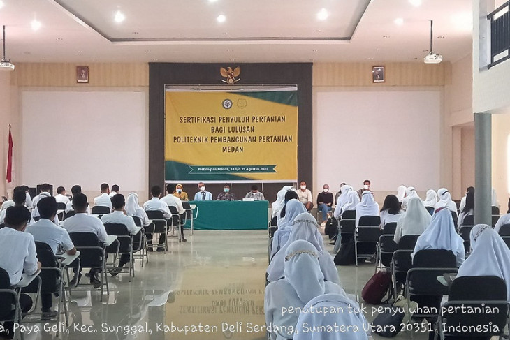 Polbangtan Medan gelar sertifikasi kompetensi penyuluh pertanian ahli