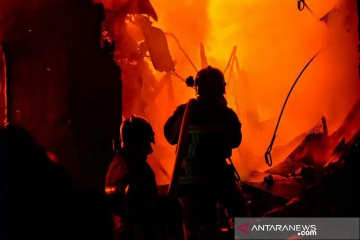 Kebakaran di Kapuk