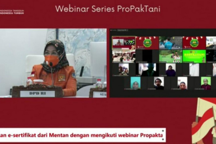 LaNyalla: Indonesia perlu miliki kemandirian dan kedaulatan pangan