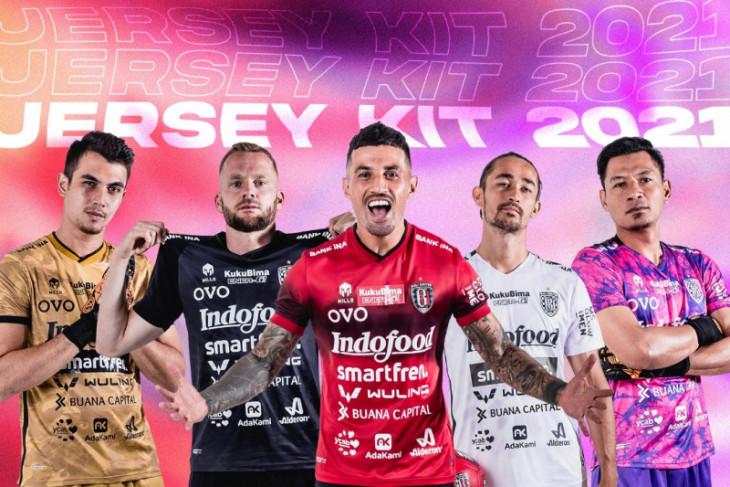 Keren, Bali United luncurkan seragam baru