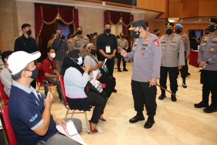 22 juta warga negara Indonesia sudah vaksin COVID-19 melalui Polri