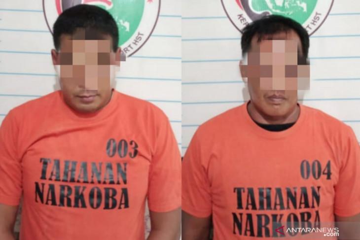 Warga Bakti dan Satiap ditangkap dengan kepemilikan 14 paket sabu