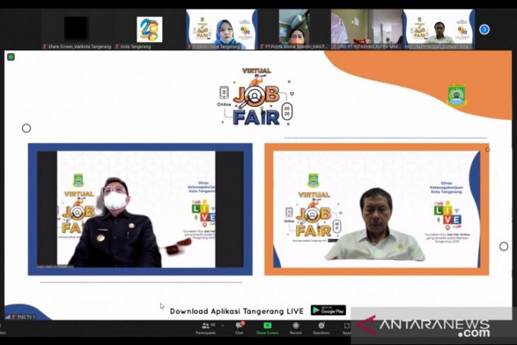 Disnaker Kota  Tangerang gelar virtual job fair sediakan 6.960 lowongan