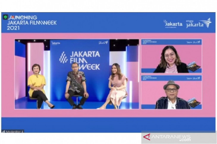 Dukung industri film, Disparekraf DKI Jakarta  inisiasi Jakarta Film Week