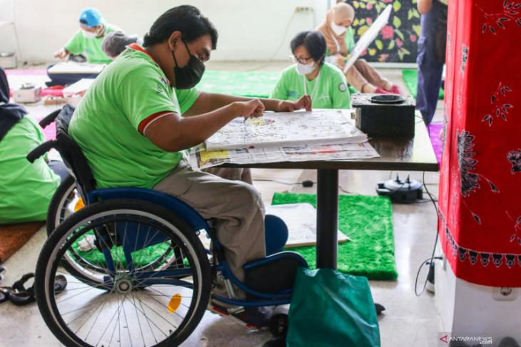 Pemkab Kubu Raya bersama PPSW latih penyandang disabilitas