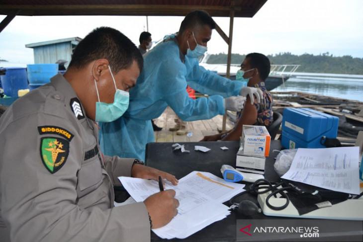 Animo masyarakat Simeulue ikut vaksin terus meningkat, sehari capai 400 dosis
