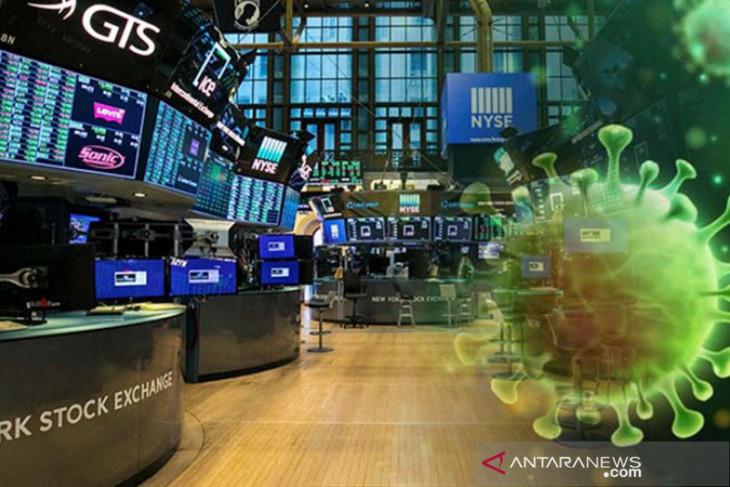 Wall Street tergelincir,  klaim pengangguran jatuh ke terendah 18 bulan