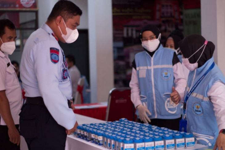 92 pegawai Rutan Depok negatif narkoba setelah jalani tes urine