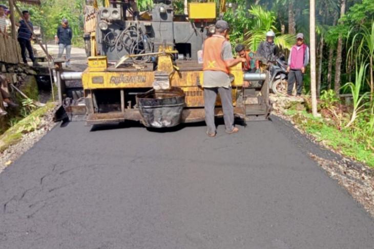 HIMNI apresiasi perbaikan jalan desa  oleh Pemkab Nias Utara