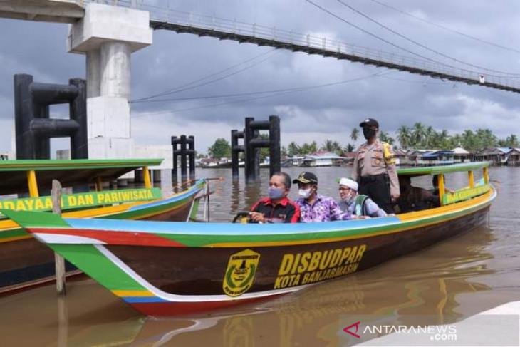 Pariwisata Mantuil Banjarmasin dapat bantuan transportasi susur sungai