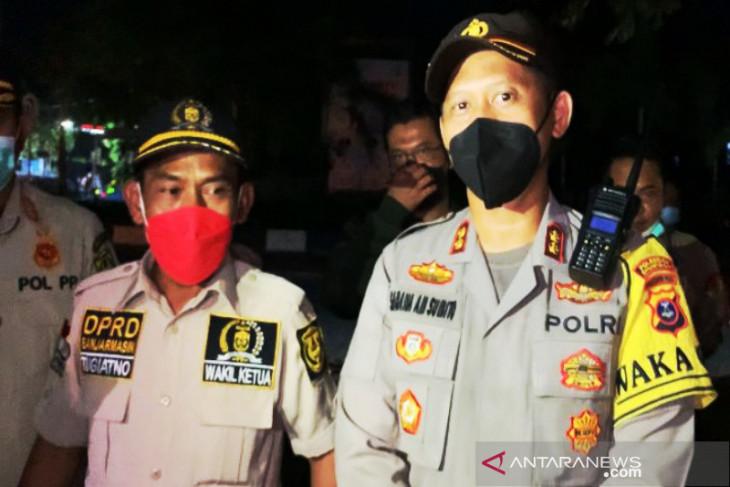DPRD Banjarmasin pantau pelaksanaan pengetatan PPKM Level 4 di batas kota