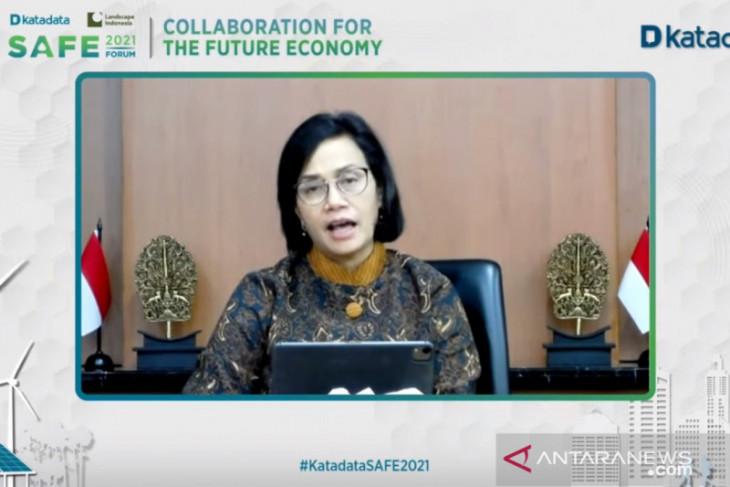 Sri Mulyani: Kebutuhan RI atasi perubahan  iklim capai Rp3.461 triliun