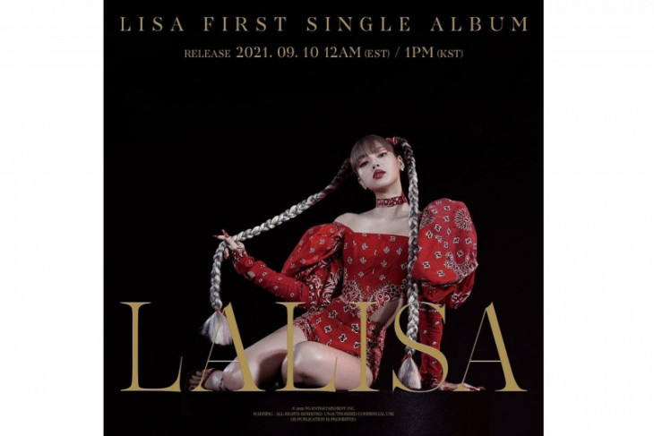 YG Entertainment ungkap bocoran album debut solo Lisa BLACKPINK