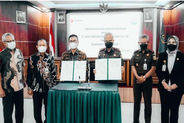 Bank Banten Teken MoU Dengan Kejaksaan Tinggi Banten