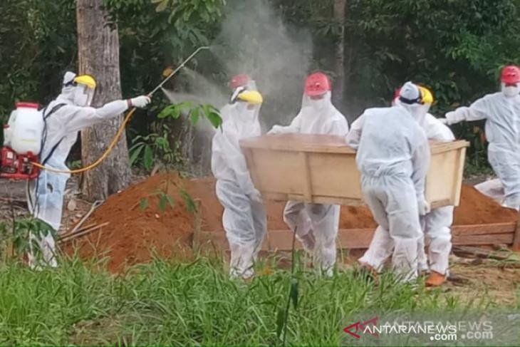 Pasien COVID-19 meninggal di Bangka Belitung bertambah 22 jadi 1.154 orang