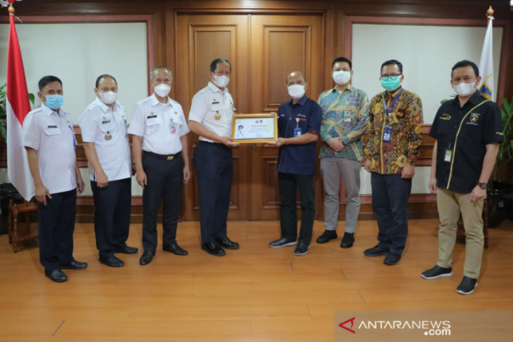 Turut Sukseskan Vaksinasi, Pertamina Raih Penghargaan Walikota Jakarta Utara