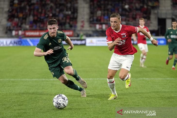 Celtic lolos ke fase grup Europa walau kalah 1-2 di markas AZ