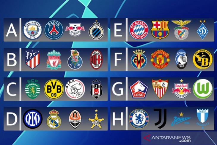 Manchester City akan bertemu PSG di Liga Champions