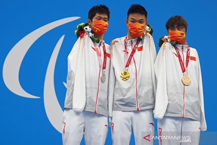 Hasil klasemen medali Paralimpiade China memimpin, Indonesia urutan ke-35