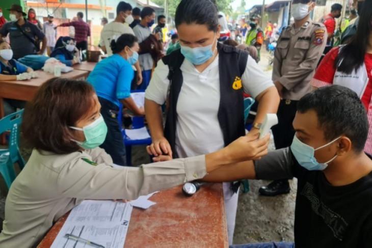 Vaksinasi sasar pelaku ekonomi di pasar tradisional di Simalungun