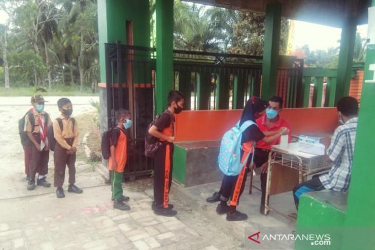 Murid SD di Kabupaten Penajam Paser Utara mulai PTM terbatas