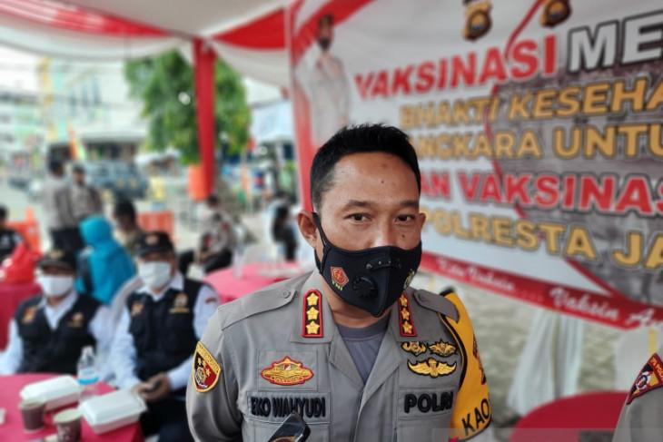 Polresta Jambi tingkatkan patroli kota selama PPKM level 4