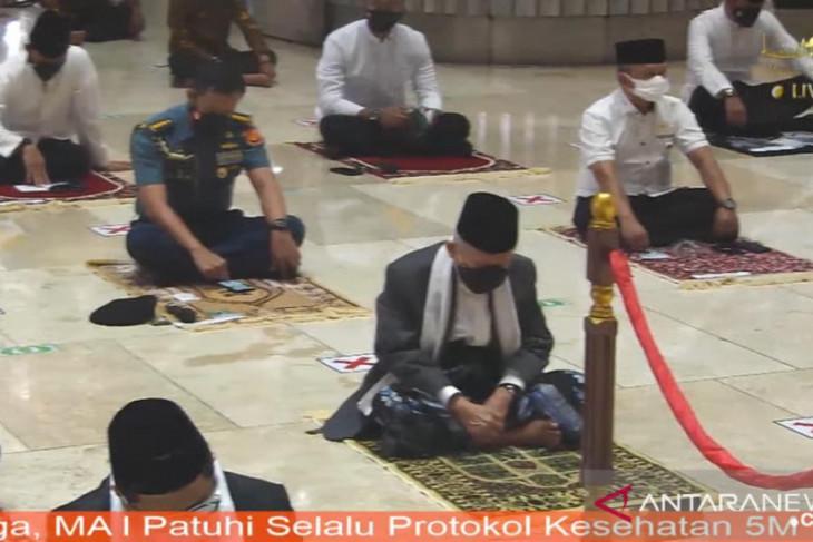 Wapres Ma'ruf tinjau penerapan prokes di Istiqlal dan Katedral