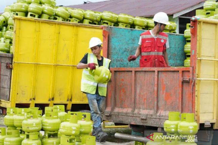 Pertamina perkuat stok LPG 3 kg di Kota Bengkulu