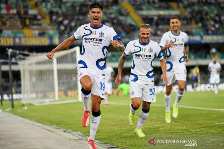 Joaquin Correa cetak dwigol, Inter bangkit kalahkan Verona 3-1