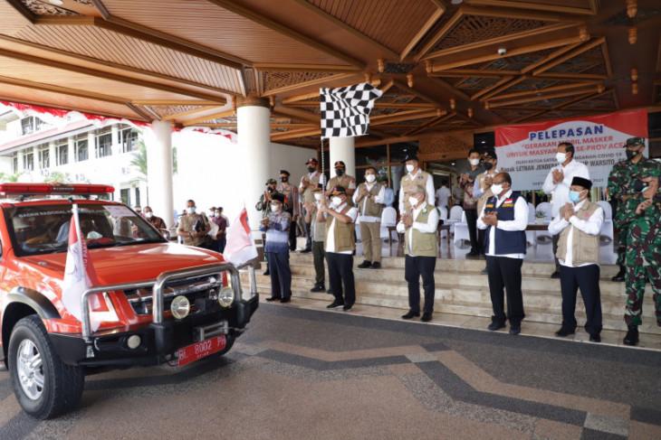 Aceh Besar dapat mesin PCR dan 30 ribu masker dari BNPB