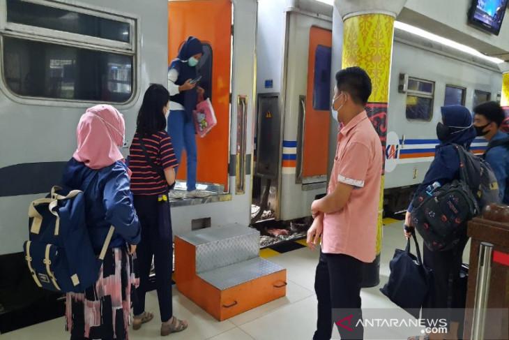 KAI Sumut sudah  batalkan keberangkatan 1.464 penumpang