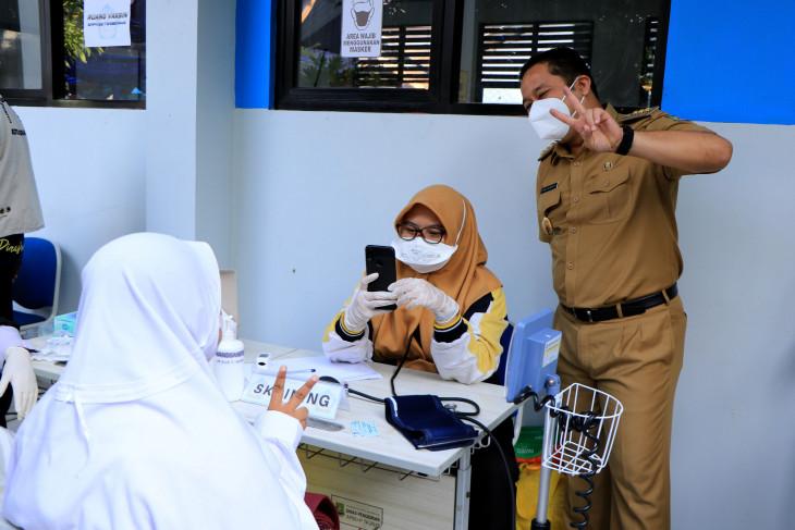 Dinkes target 12.000 pelajar Kota Tangerang divaksin terkait PTM