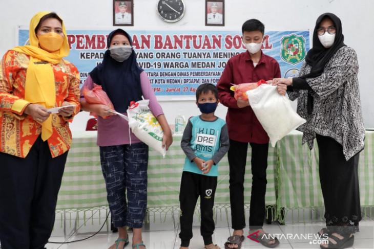 Pemkot Medan  beri pendampingan kepada anak yatim akibat COVID-19