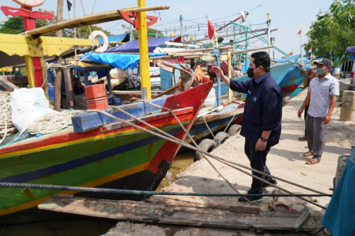 Ini komitmen Menteri BUMN Erick Thohir untuk nelayan Blanakan
