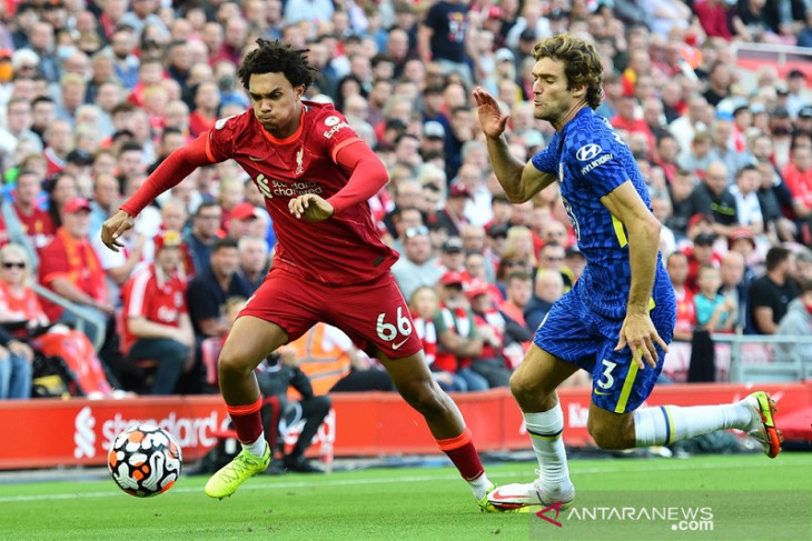 10 pemain Chelsea redam tuan rumah Liverpool