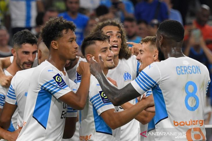 Marseille amankan tiga poin kontra Saint-Etienne