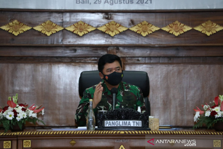 Panglima TNI Hadi Tjahjanto minta semua pihak perkuat komitmen penanganan COVID-19