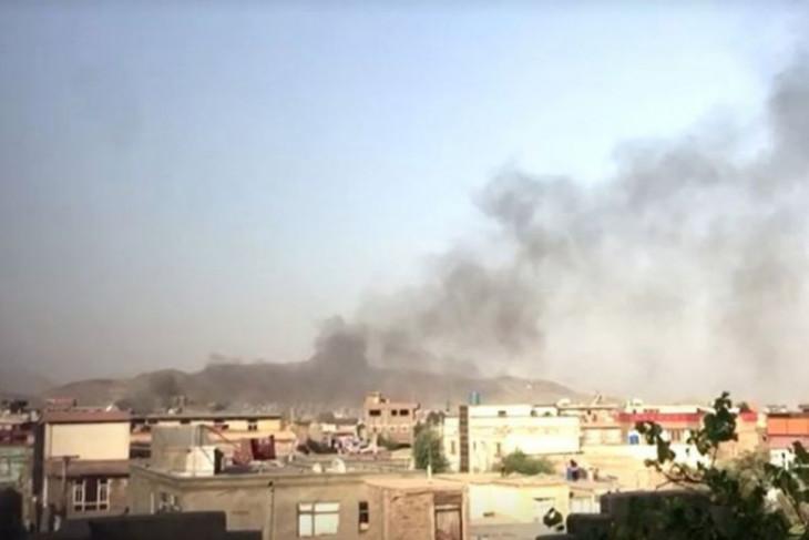 AS serangan rudal ke militan ISIS di Kabul