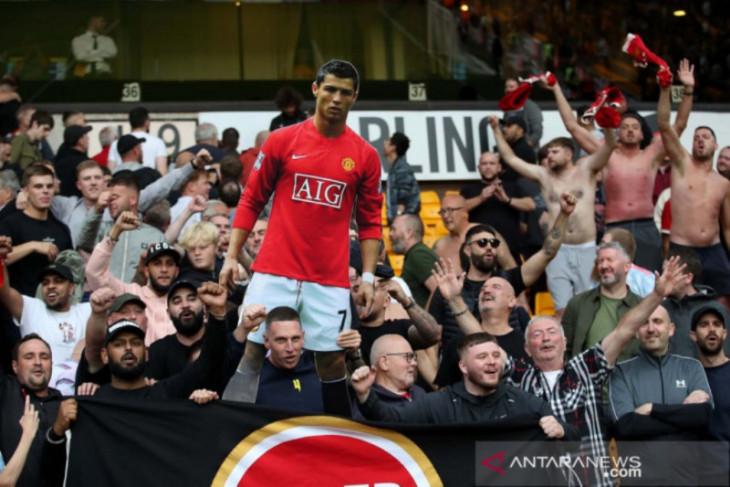 Suporter MU antusias sambut Ronaldo