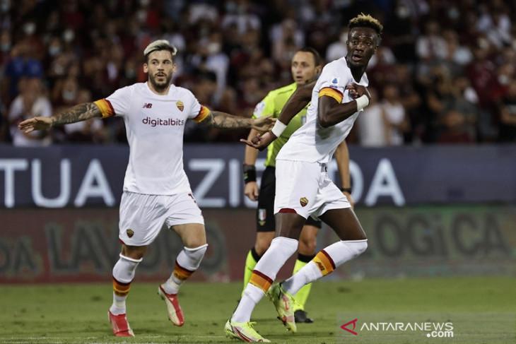 Roma cukur Salernitana 4-0, Tammy Abraham cetak gol