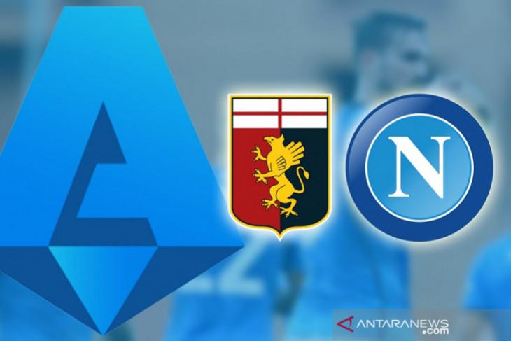 Napoli bawa tiga poin dari Genoa  saat Sassuolo dan Sampdoria nirgol