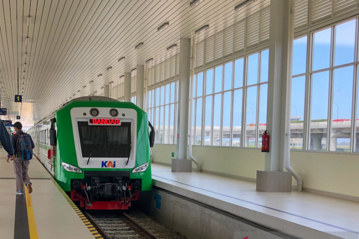KAI operates four round-trips for Yogyakarta airport railway trial run