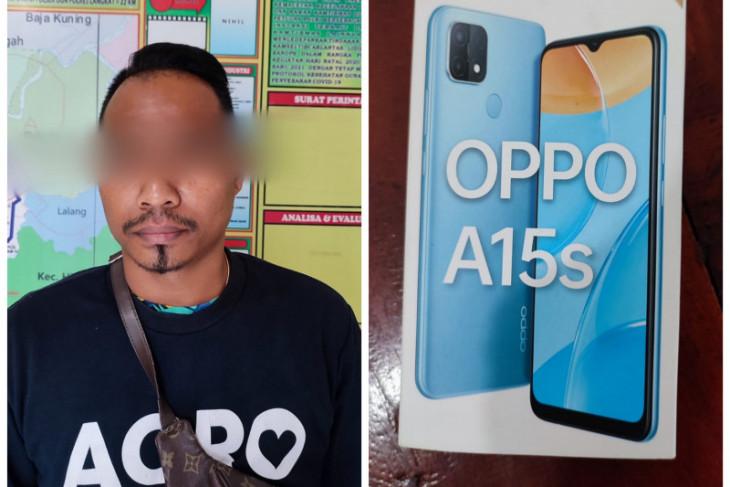 Polsek Tanjung Pura Langkat tangkap pencuri handphone