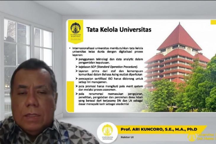 Rektor UI: Menangkan kompetisi perlu ditunjang kemampuan