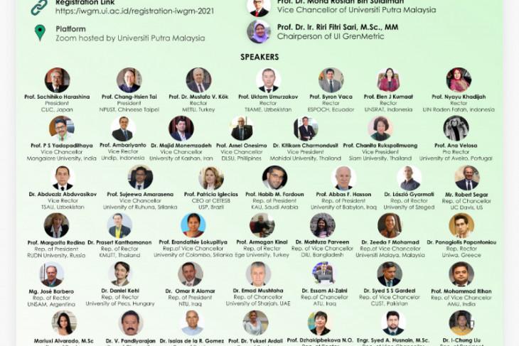 UI gelar lokakarya solusi pengembangan kampus hijau secara virtual
