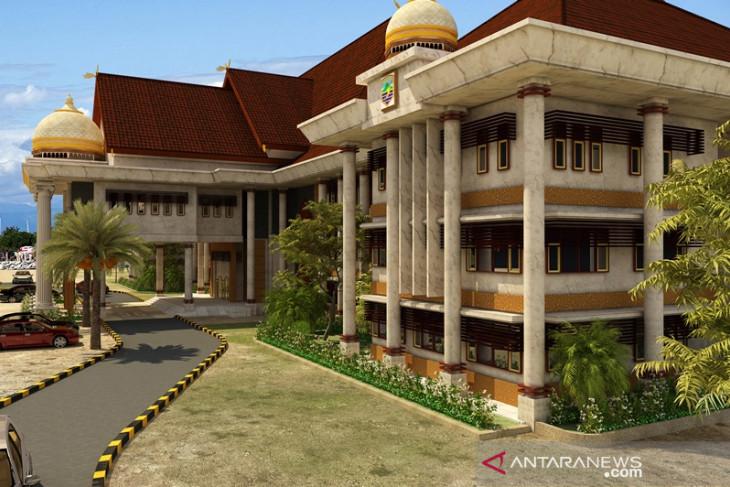 Penyelesaian pembangunan perkantoran Kotabaru  gunakan dana konpensasi