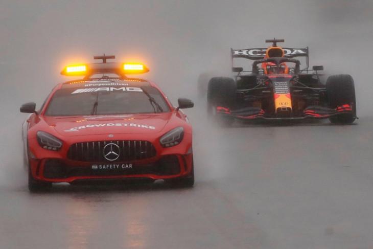 Max Verstappen juarai GP Belgia yang dihentikan karena cuaca buruk