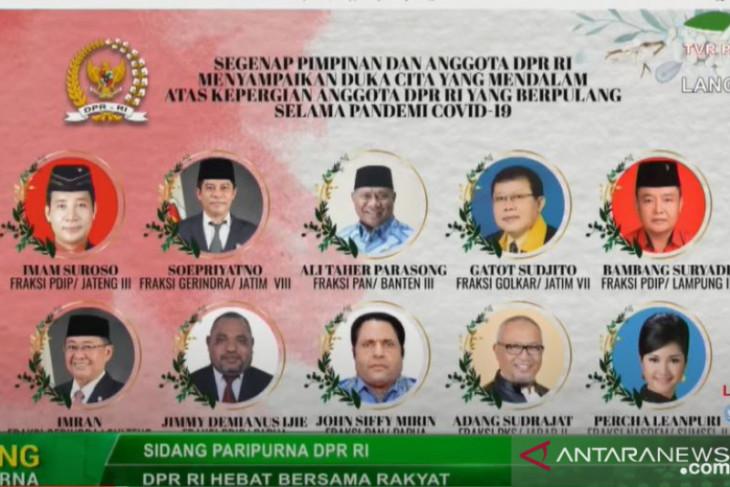 Muhaimin: Sepuluh anggota DPR wafat  sebagai pejuang konstitusi